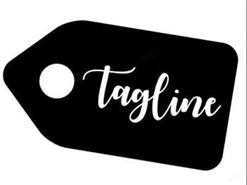 Tagline logo