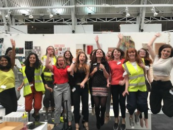 Textile students- New Designers 2017
