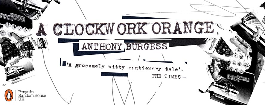 A Clockwork Orange Book Cover Design. 03