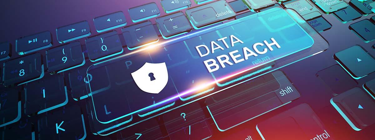 Twitter Hack 1200x450 - Keyboard with Data Breach written on it