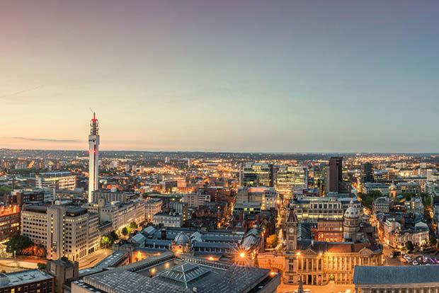 Birmingham Urban Studies Launch event Image - Birmingham skyline