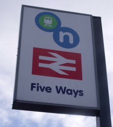 Five Ways Sign