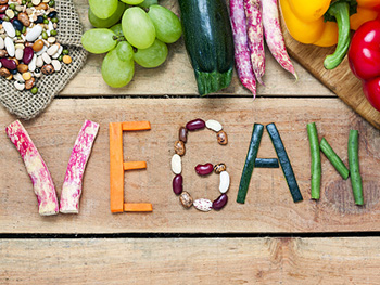 BLSS Vegan Guide to Birmingham News Image 350x263 - Vegetables spelling the word Vegan