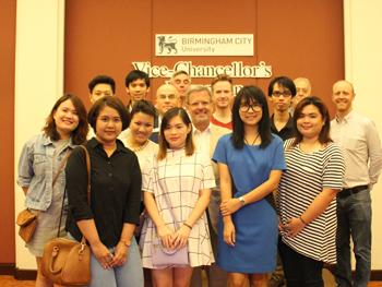 Vice Chancellors Reception in Bangkok