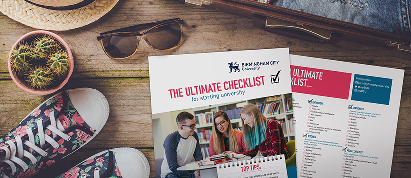 What to take to university checklist